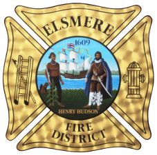 Elsmere fire district logo for letterhead